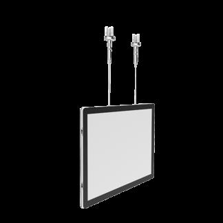 LED plakatrammer til vindu