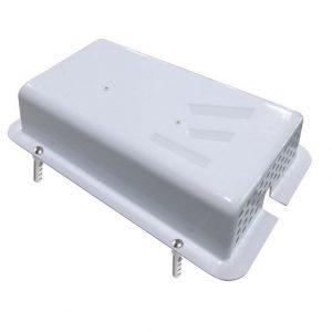 Beskyttelsesboks til strømforsyning