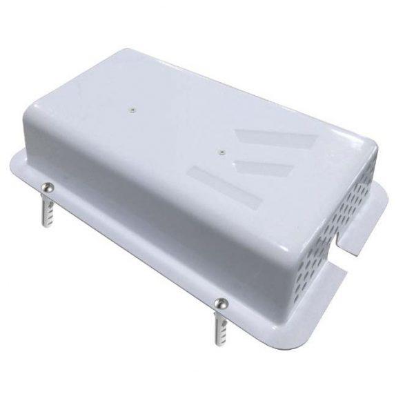 Beskyttelsesboks til strømforsyning Displayhuset