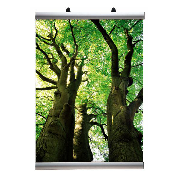 Bannerklemme 30mm 85cm Alu Displayhuset