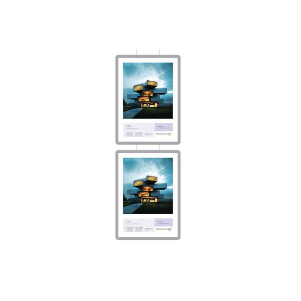 VM TWO, 2 stk. 50x70 (i en rad) Displayhuset