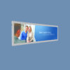 Veggmontert LED BANNER - kort Displayhuset