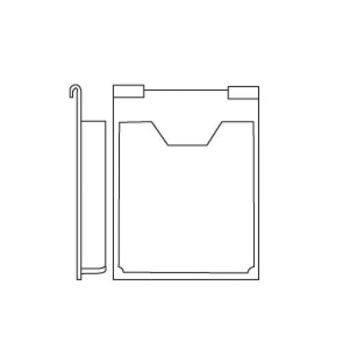 A4 brosjyreholder, Hook-On Displayhuset