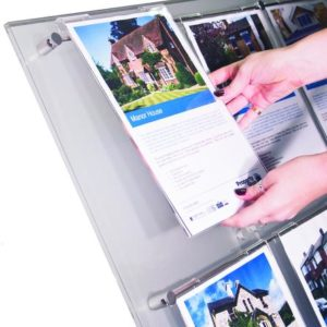 Akrylprodukter - plakatlommer og brosjyreholdere