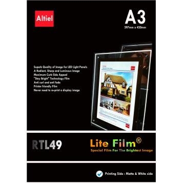 A3 Backlit, RTL 49, 50 stk. Displayhuset