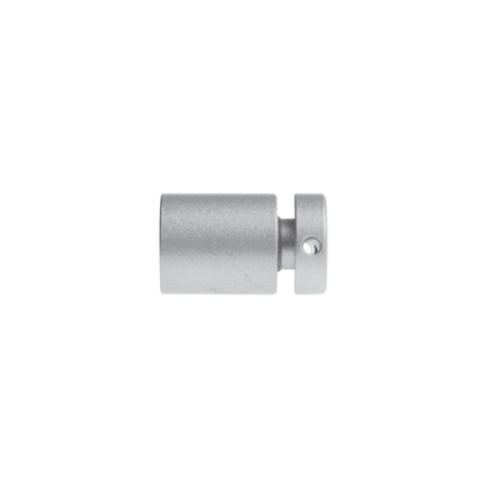 S1SC, Avstandsstykke for skilt, Ø16mm / 18mm fra vegg, Satin Krom Displayhuset