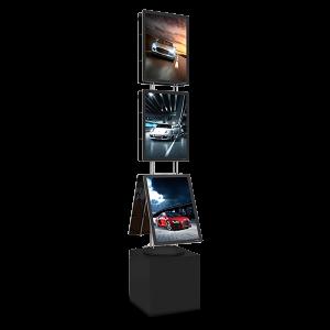 VM BOX Premium base med 90W strømforsyning