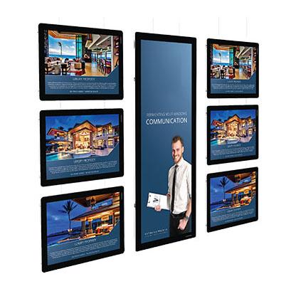 LED plakatdisplay og digitale skilter Displayhuset