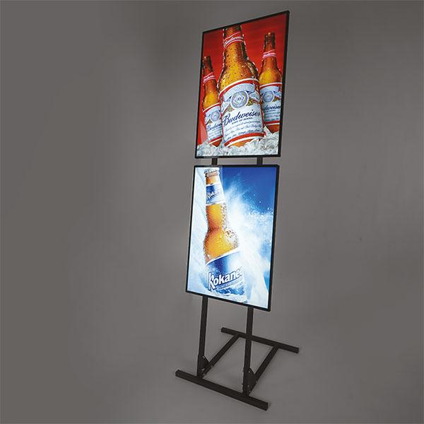 VM Superlight Stand - 2xA2 Displayhuset